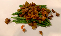 Green Beans with Minced Pork 螞蟻上樹